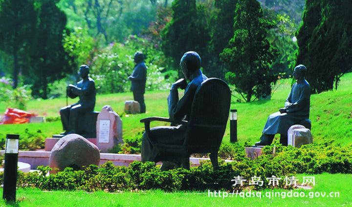 文化名人雕塑园